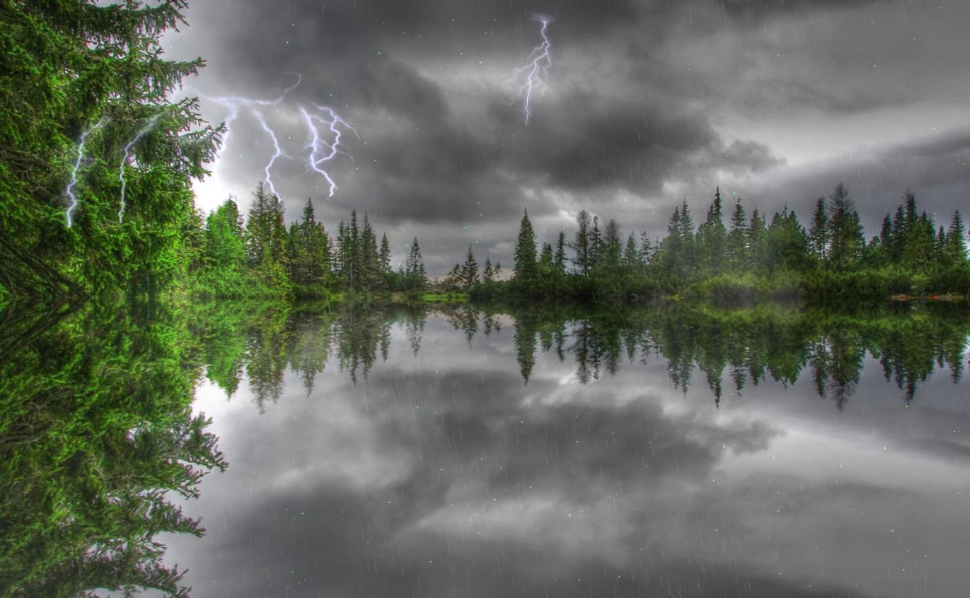 Windows 7 Amazing Thunderstorm Animated Wallpaper 1.0 full