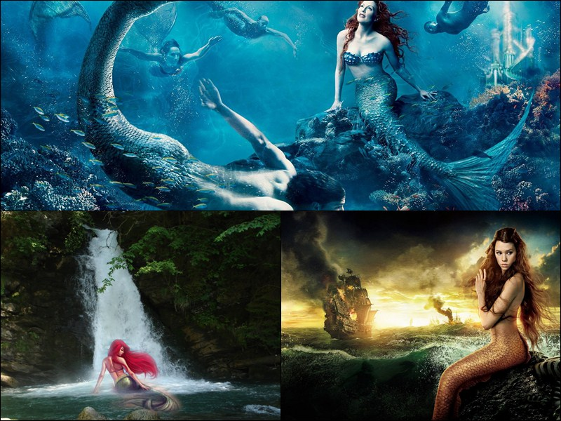 gallery for beautiful mermaid wallpaper