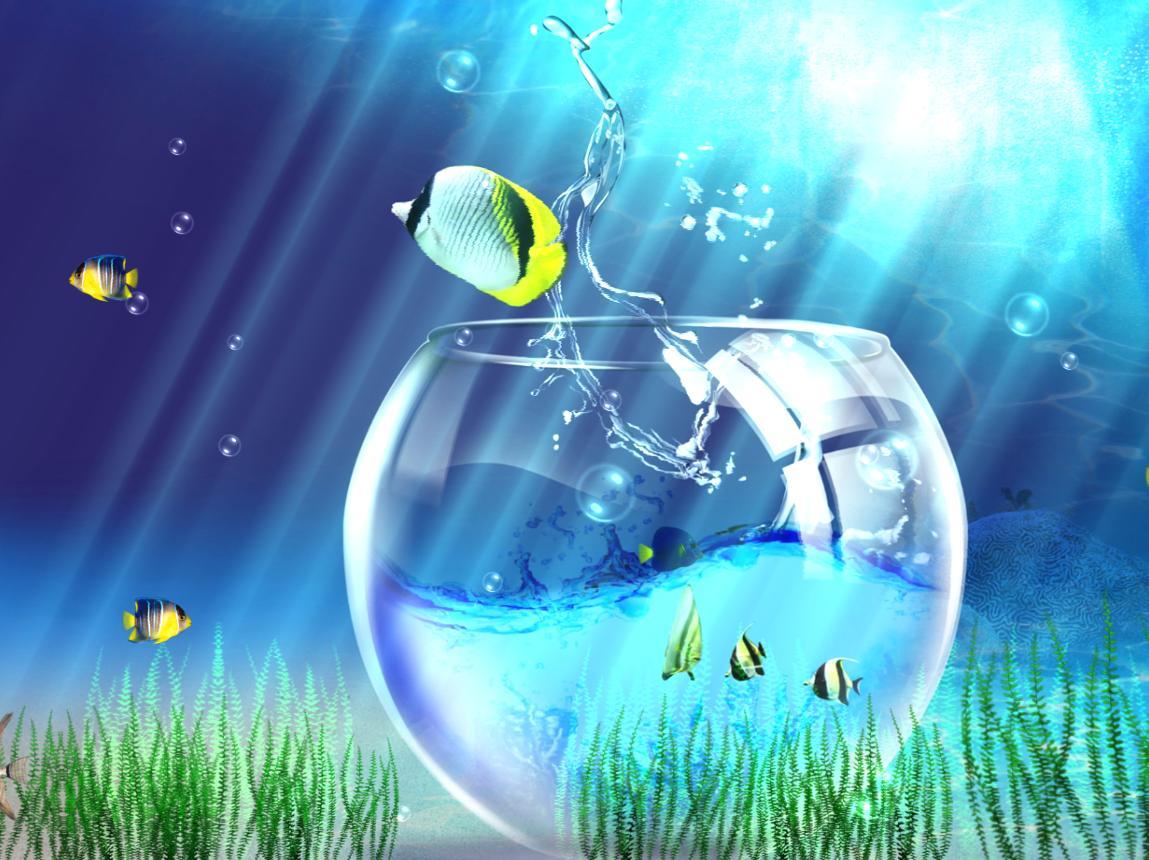 ocean life aquarium animated wallpaper collection