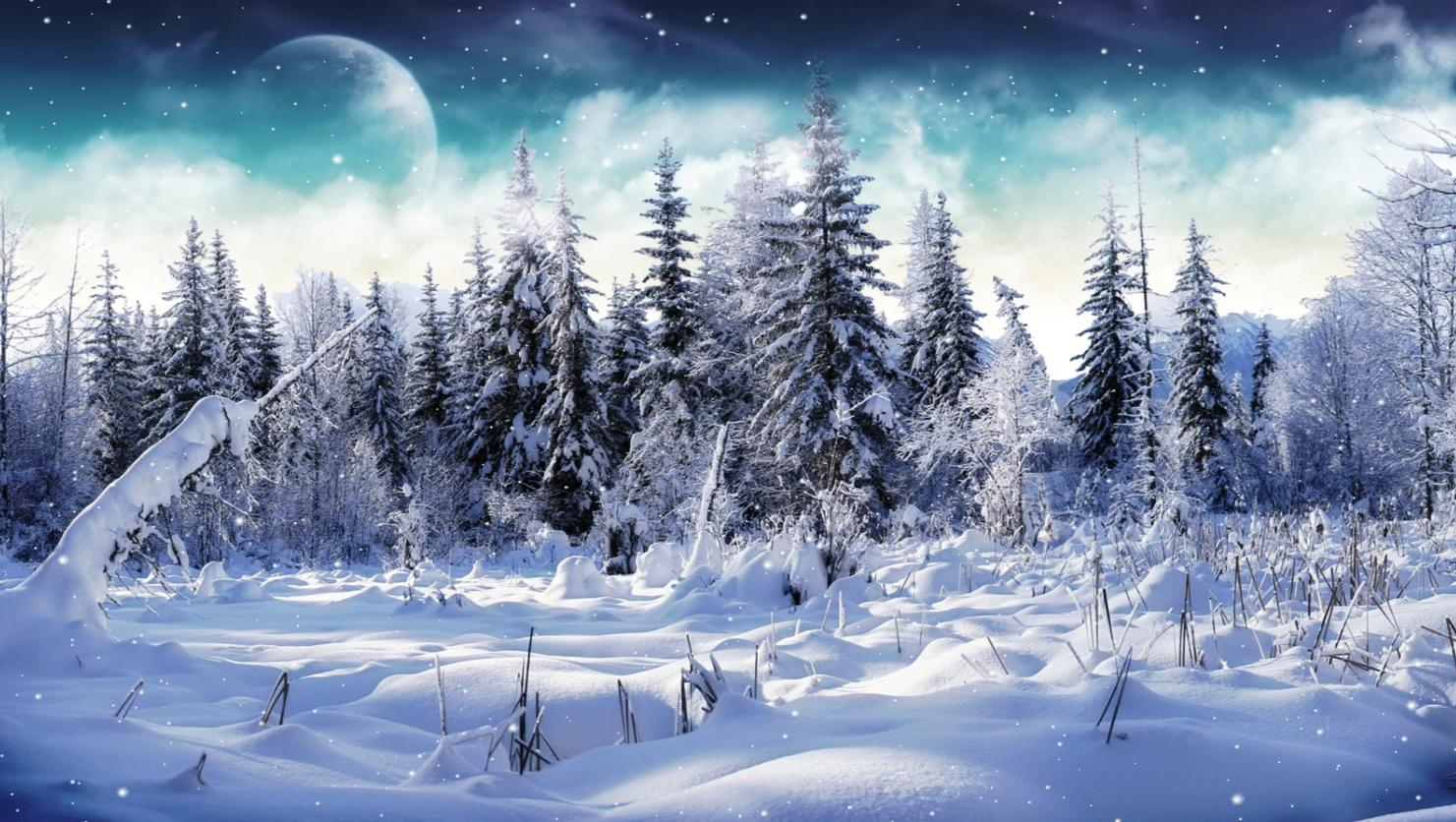 Winter Wallpaper Animated