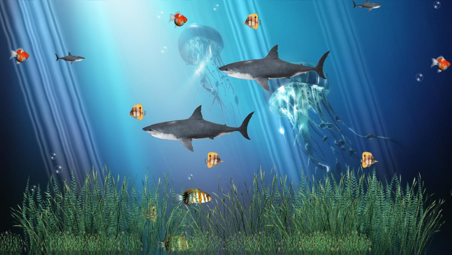 Coral Reef Aquarium Animated Wallpaper screenshot