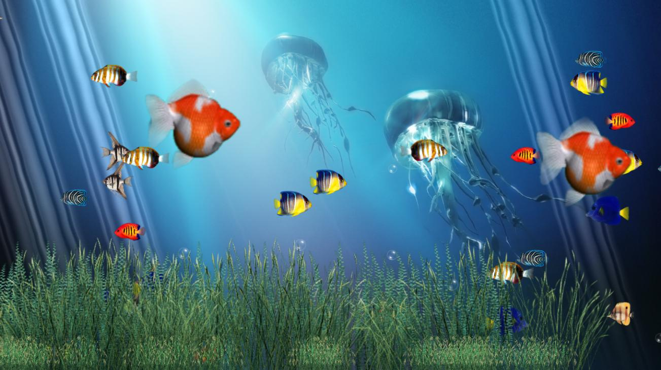 Free Moving Aquarium Screensavers