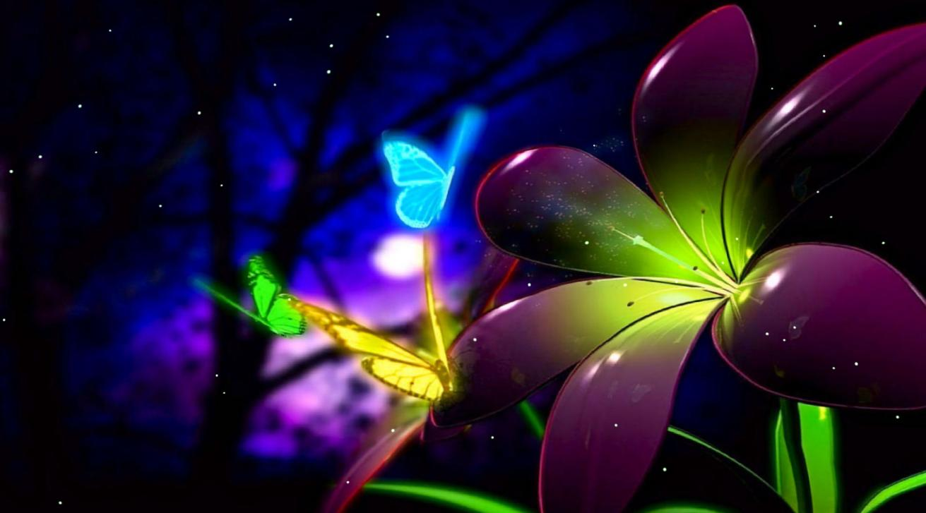 Download Fantastic Butterfly Animated Wallpaper