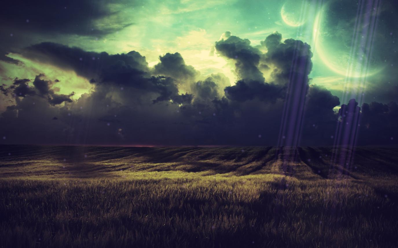 Fantastic Landscape Animated Wallpaper screenshot