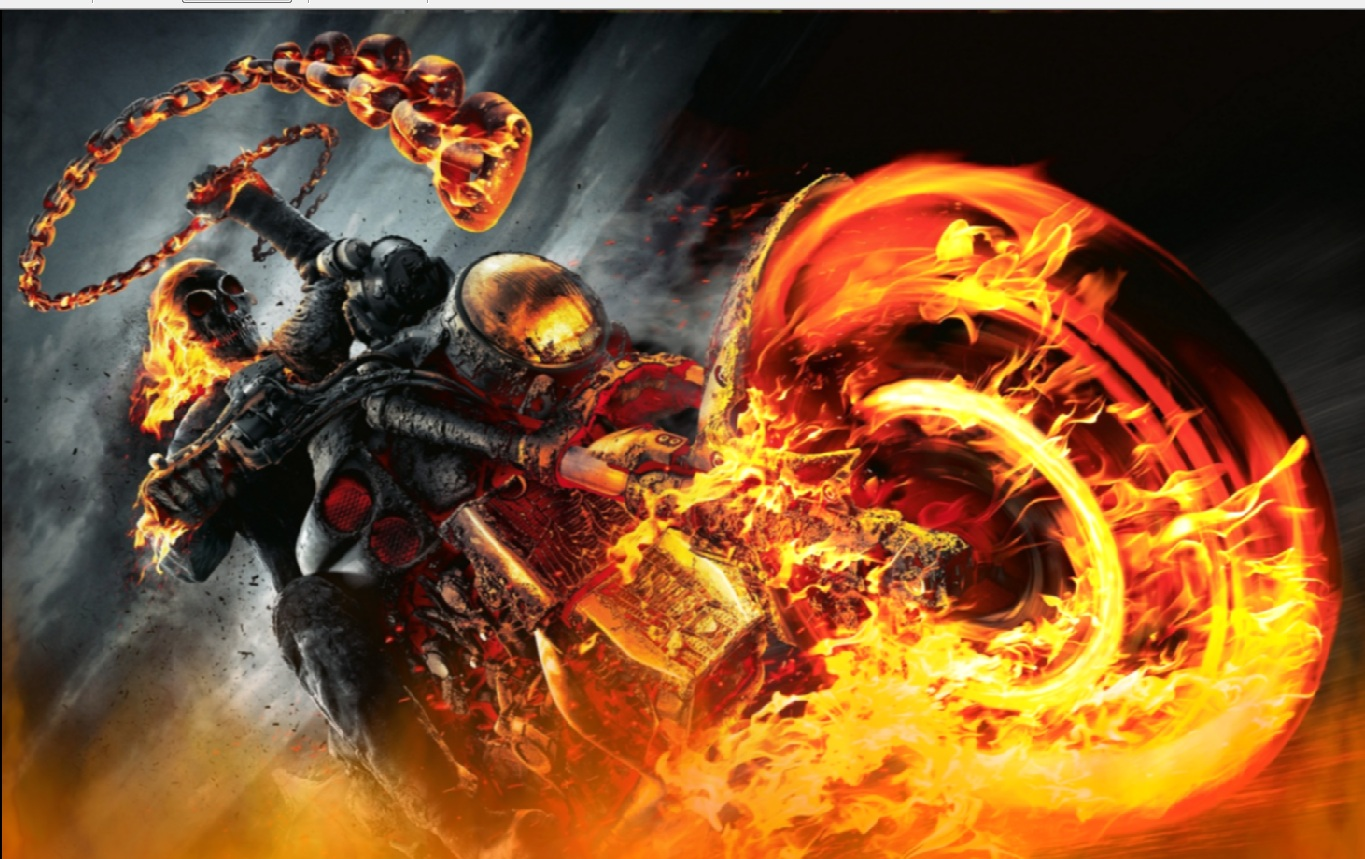 ghost rider screensaver animated wallpaper download