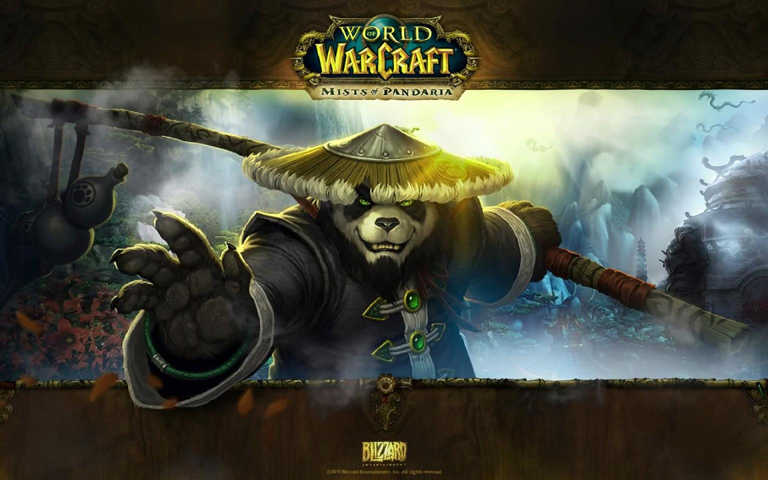 Mists of Pandaria Animated Wallpaper full screenshot