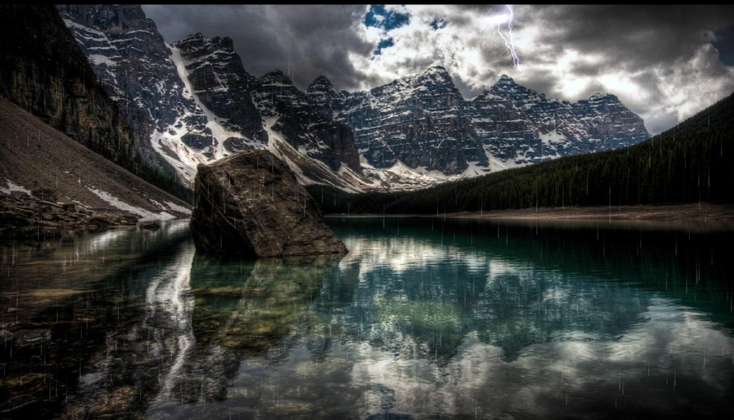 Beautiful Wallpaper Mountain Rain - Mountain_Rainstorm_Preview  Snapshot_705370.jpg