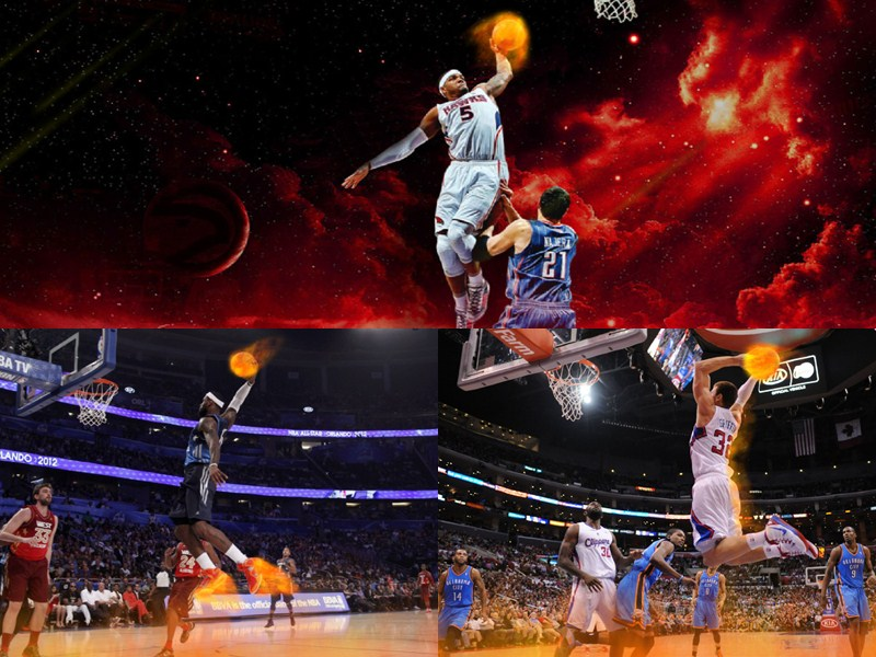 NBA on Fire Animated Wallpaper 1.0 full
