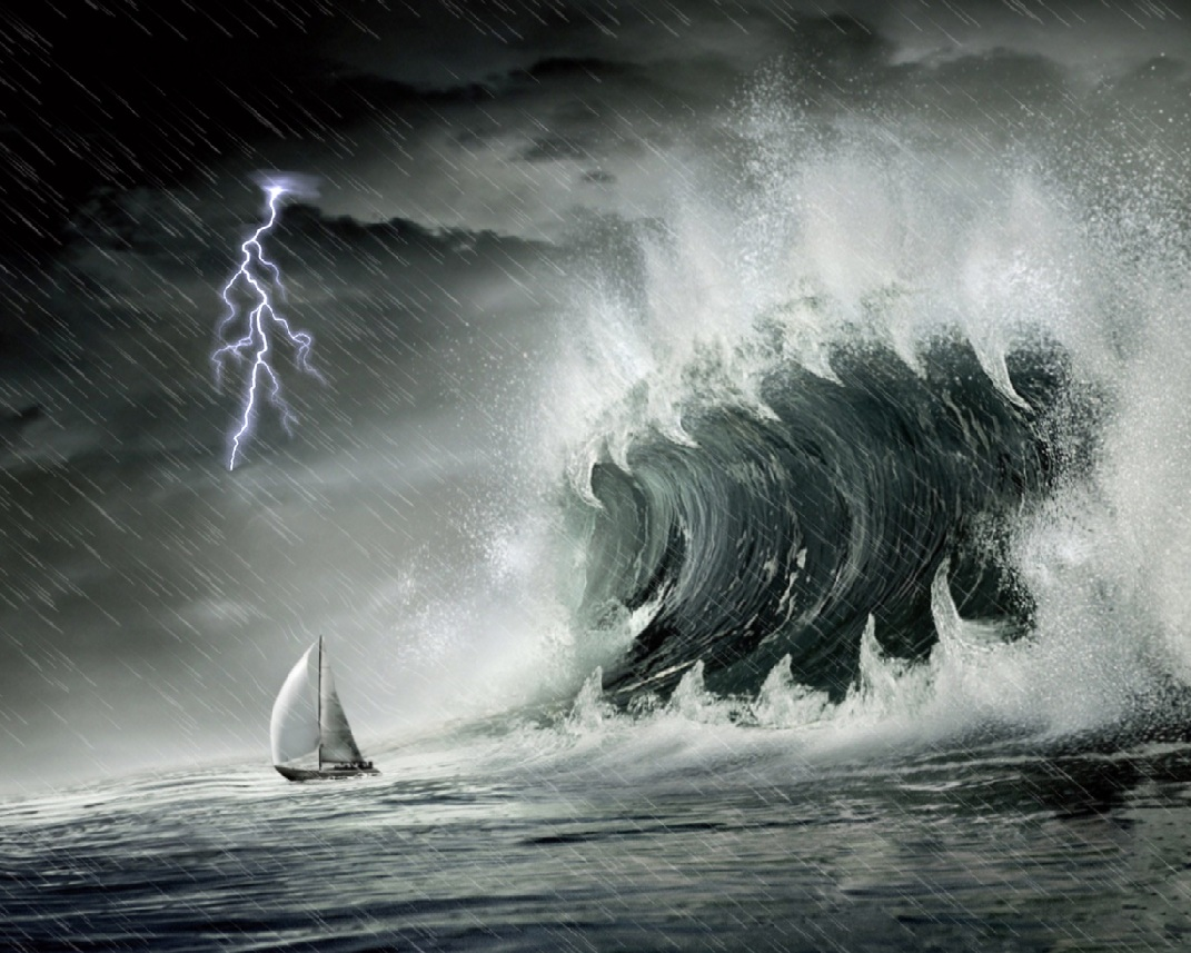 Download Ocean Storm Animated Wallpaper