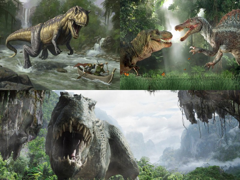 Prehistoric Monsters Animated Wallpaper screen shot