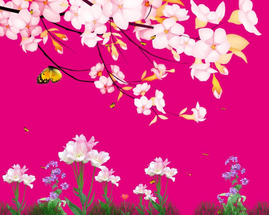 Tiny Butterflies Animated Wallpaper Preview