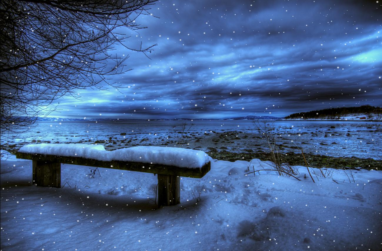 Download cold winter animated wallpaper for Windows for cold climates
