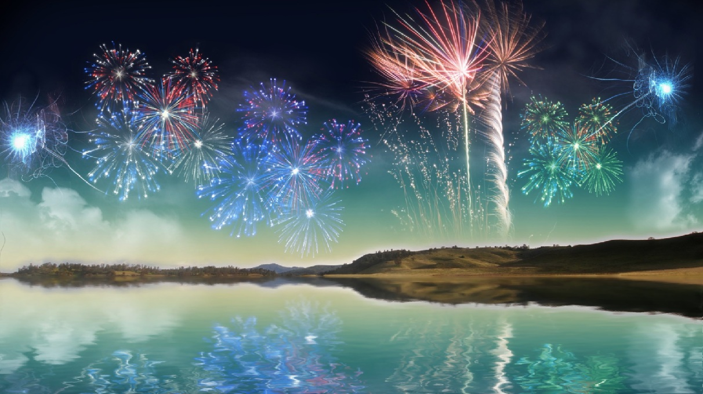 Fireworks Wallpaper Free: Fireworks Animated Wallpaper