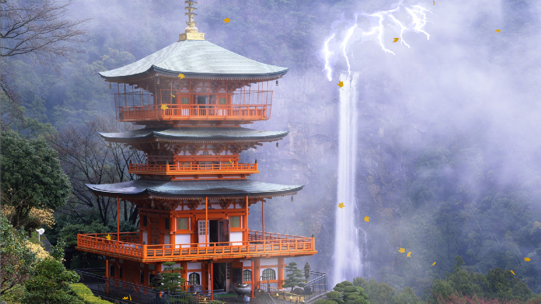 Traditional Japan Animated Wallpaper Desktopanimated Com