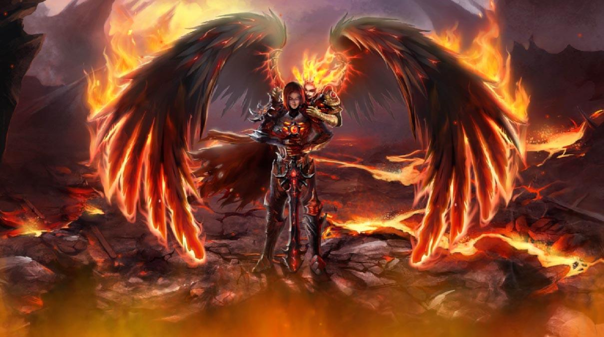 Fallen Angels Animated Wallpaper Desktopanimatedcom