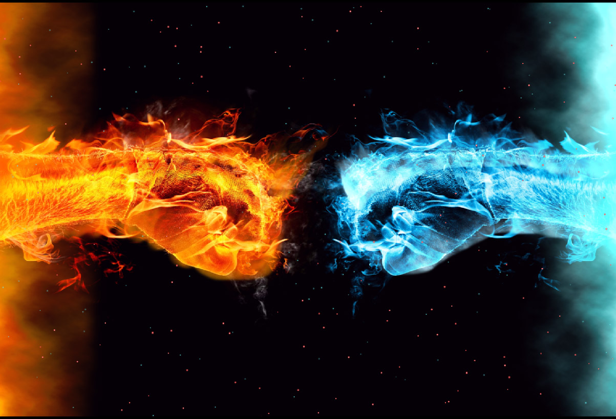 cold fire animated wallpaper - desktopanimated
