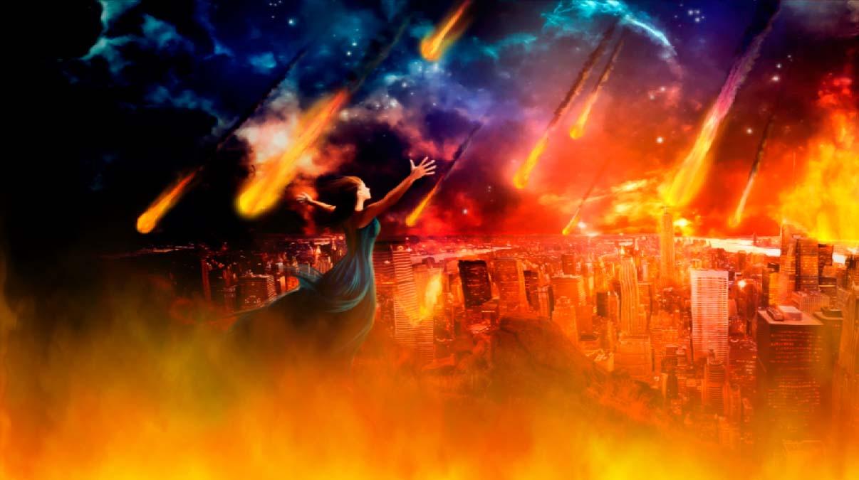 fire apocalypse background - photo #14