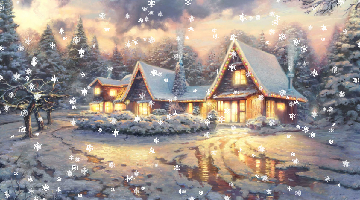 Classic Christmas Motion Background Animation Perfecty: Christmas Eve Animated Wallpaper