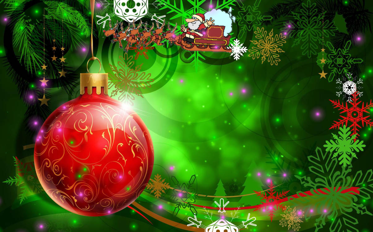 download christmas holiday animated wallpaper | desktopanimated